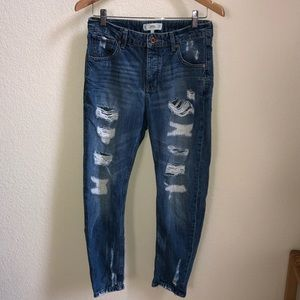 MNG by Mango Angie Boyfriend Jeans 2 destroyed